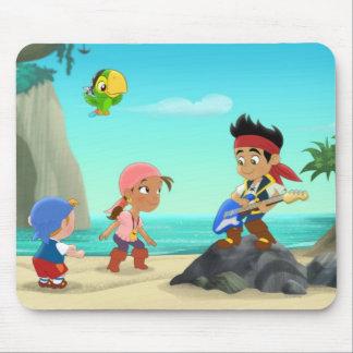 Jake y los piratas 2 de Neverland Alfombrilla De Ratones