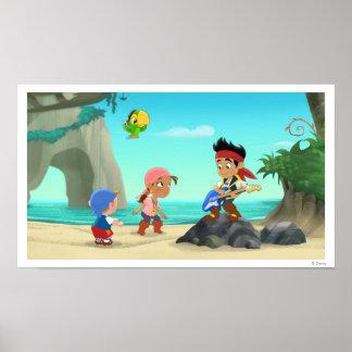 Jake y los piratas 2 de Neverland Póster