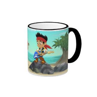 Jake y los piratas 2 de Neverland Taza A Dos Colores