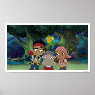Jake y los piratas 3 de Neverland Posters