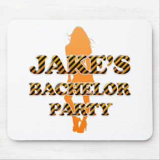 Jake's Bachelor Party Mouse Pad