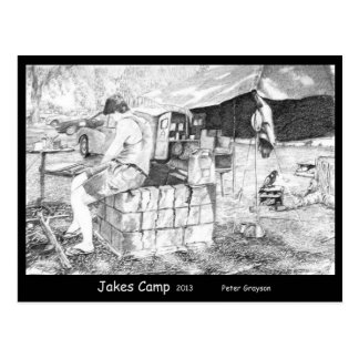 Jakes Camp Postcard