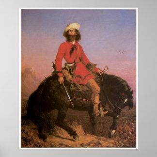 Jakes largo, 1844 póster