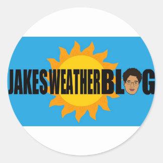 jakes weather Sticker