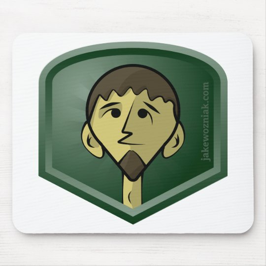 JakeWozniak.com Mouse Pad