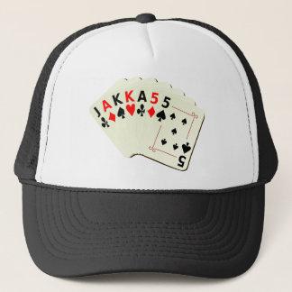 JAKKA55 Cards Trucker Hat