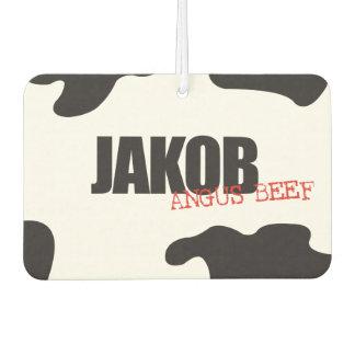 "Jakob ""Angus Beef"" Trendy Air Freshener"