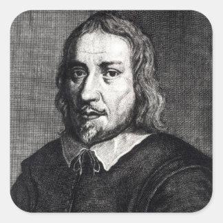 Jakob Bohme Square Sticker