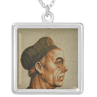 Jakob Fugger Silver Plated Necklace