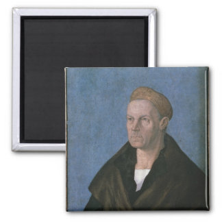 Jakob Fugger, the Rich 2 Inch Square Magnet