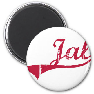 Jal New Mexico Classic Design 2 Inch Round Magnet