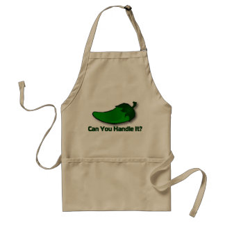 Jalapeno Apron: Can You Handle It? Adult Apron