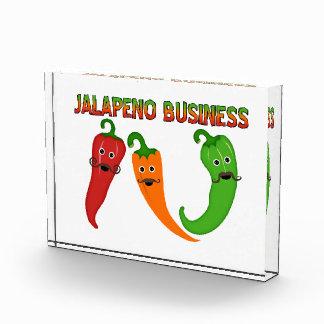 Jalapeno Business Acrylic Award