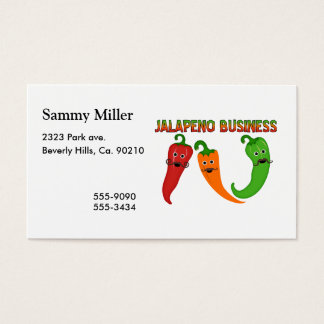 Jalapeno Business Business Card