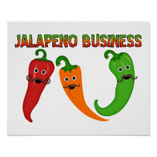 Jalapeno Business Poster