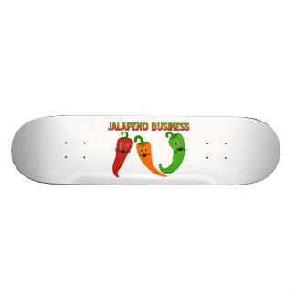 Jalapeno Business Skateboard Deck