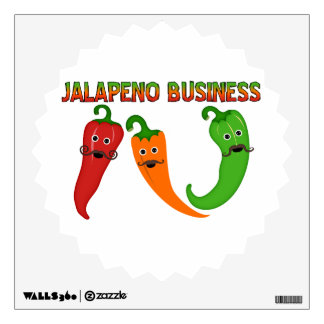 Jalapeno Business Wall Decal