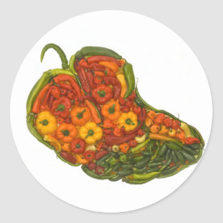 Jalapeno! Classic Round Sticker