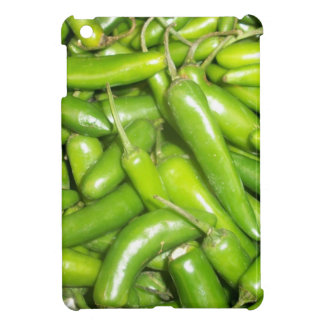 Jalapeno Covering-Hot Peppers iPad Mini Cases