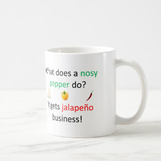 Jalapeño Joke Coffee Mug