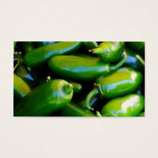 jalapeno pepper busniess card