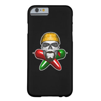 Jalapeno Pepper Skull Barely There iPhone 6 Case