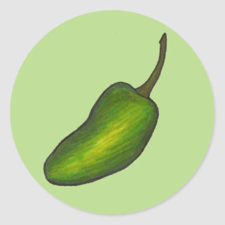 Jalapeno Pepper Stickers