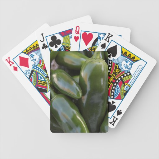 Jalapeno Peppers Playing Cards