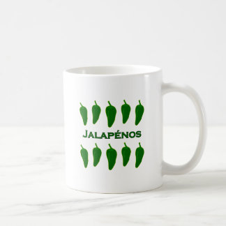 Jalapeno Peppers (titled) Coffee Mug
