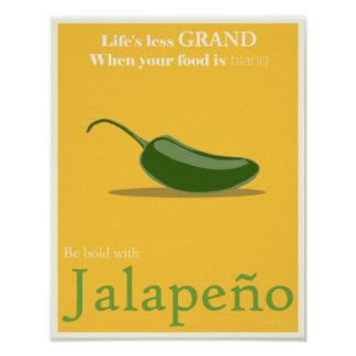 Jalapeno Promotional Poster - 11x14