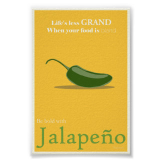 Jalapeno Promotional Poster - 4x6