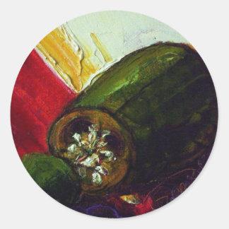 Jalapeño Round Sticker