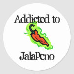 Jalapenos Classic Round Sticker