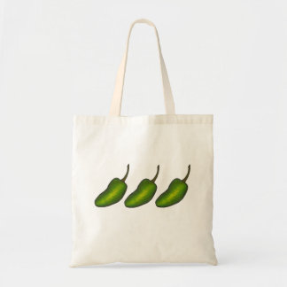 Jalapenos Green Hot Jalapeno Pepper Peppers Tote
