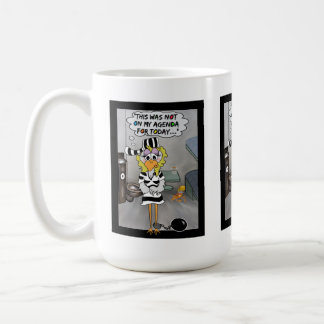 Jalbird mug: Not on my agenda... Classic White Coffee Mug