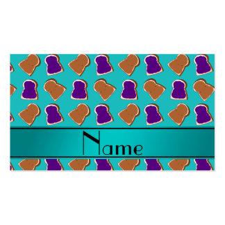 Jalea conocida personalizada de la mantequilla de tarjetas de visita