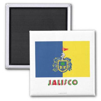 Jalisco Flag Refrigerator Magnets