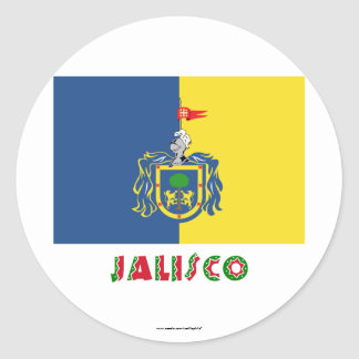 Jalisco Flag Stickers