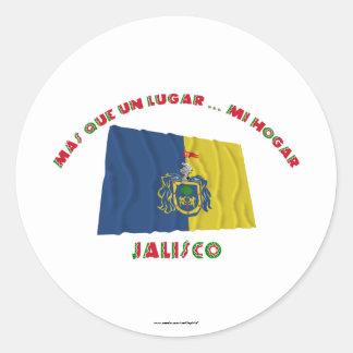 Jalisco - Más Que un Lugar ... Mi Hogar Classic Round Sticker