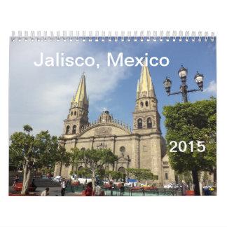 Jalisco, Mexico Calendar 2015