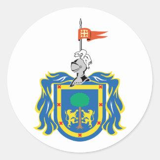 Jalisco, Mexico Classic Round Sticker