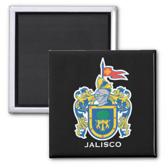 Jalisco*, Mexico Coat of Arms Magnet