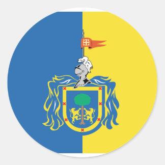 Jalisco, Mexico Round Stickers