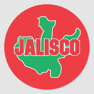 Jalisco State Classic Round Sticker