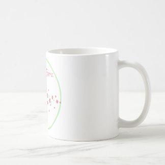 Jalón del búho del árbol apenas llevado taza de café