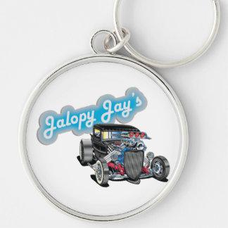 Jalopy Jay Key Chain