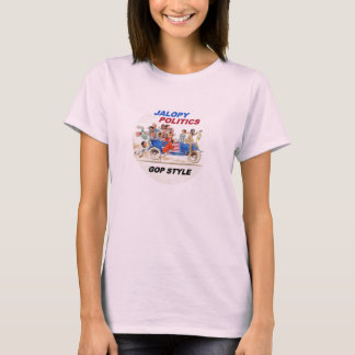 Jalopy Politics 2016 T-Shirt