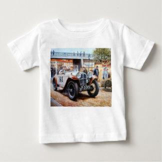 Jalopy racingcar painting baby T-Shirt