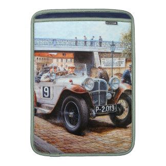 Jalopy racingcar painting MacBook sleeve