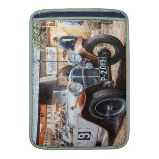 Jalopy racingcar painting MacBook sleeves
